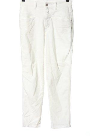 Closed Jeans taille haute blanc style décontracté