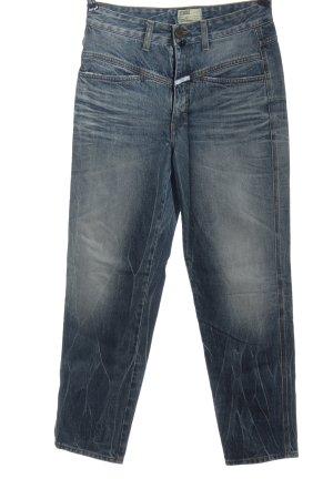 Closed High Waist Jeans blau Farbverlauf Casual-Look