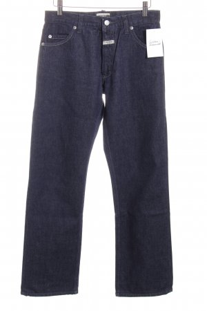 Closed Hoge taille jeans donkerblauw casual uitstraling