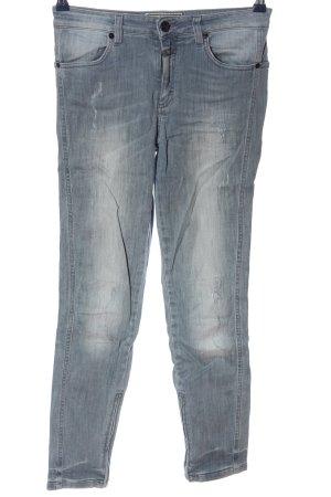 Closed Jeans taille haute gris clair style décontracté
