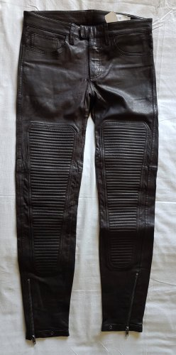 Closed Leather Trousers black leather