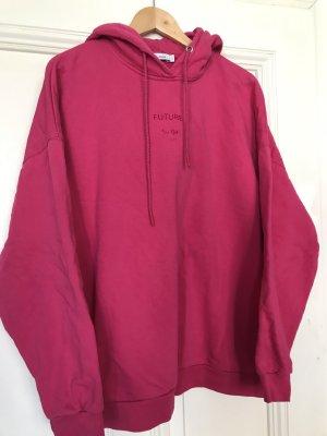 Closed Sweter oversize malina-różowy