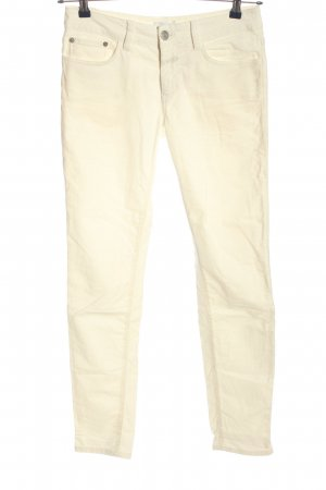 Closed Lage taille broek wolwit casual uitstraling