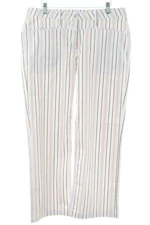Closed Spodnie biodrówki Wzór w paski W stylu casual