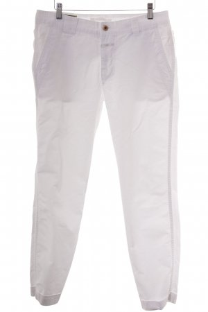 Closed Lage taille broek wit casual uitstraling