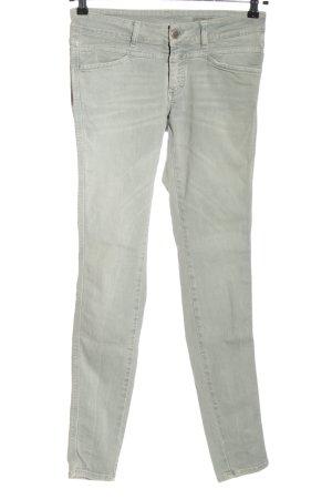 Closed Jeans taille basse gris clair style décontracté