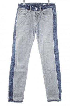 Closed Hüftjeans dunkelblau-kornblumenblau Jeans-Optik