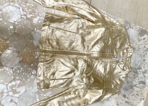 Closed Jacke Leder Gold