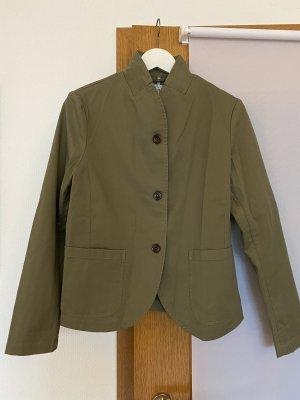 Closed Klassischer Blazer groen-grijs-khaki