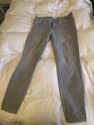 Closed Jeans slim fit grigio chiaro