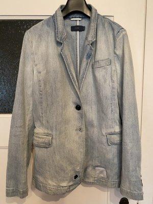 Closed Blazer in jeans azzurro