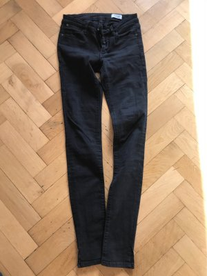 Closed Jeans taille basse noir