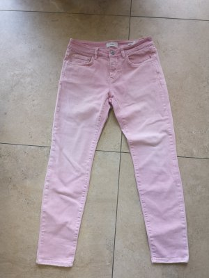 Closed Tube Jeans light pink