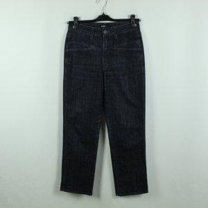 Closed Jeansy z prostymi nogawkami ciemnoniebieski Bawełna