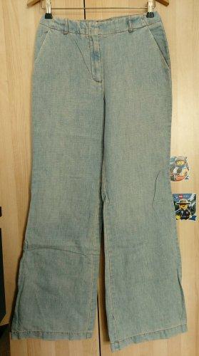 Closed Boyfriend Trousers pale blue cotton