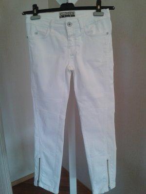 Closed Biker Jeans white cotton