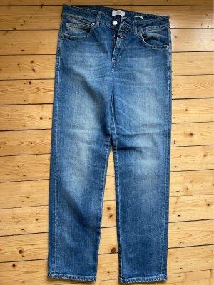 Closed Jeansy z prostymi nogawkami niebieski