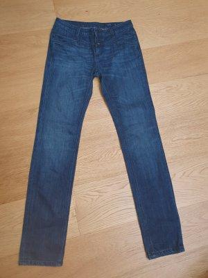 Closed Jeansy z prostymi nogawkami niebieski-ciemnoniebieski