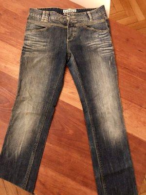 Closed Jeans vita bassa blu scuro-blu