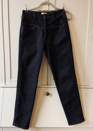 Closed High Waist Jeans black cotton