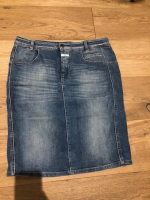 Closed Jeans Rock Knielänge, Gr. 40