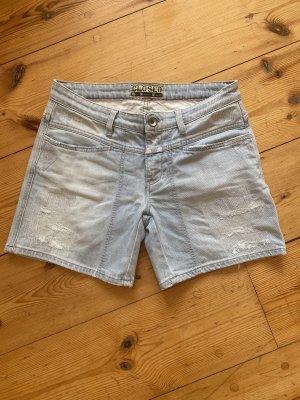 Closed Jeans-Shorts, hellblau gewaschen, Gr. 27inch