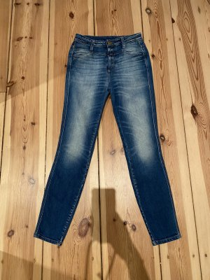 Closed Jeans Skinny Pusher, Mitteblau, Größe 25 Inch