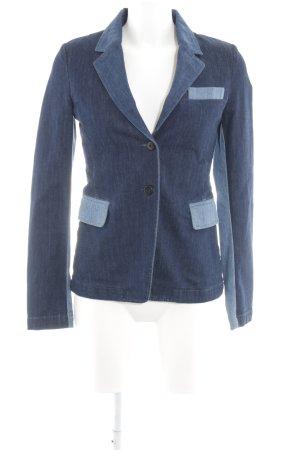 Closed Jeansblazer dunkelblau-stahlblau schlichter Stil