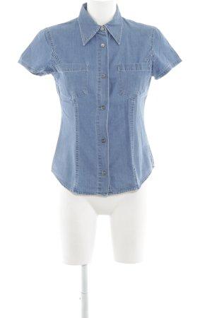 Closed Jeanshemd blau Jeans-Optik