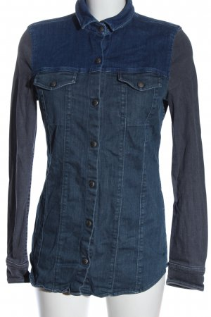 Closed Veste en jean bleu style décontracté
