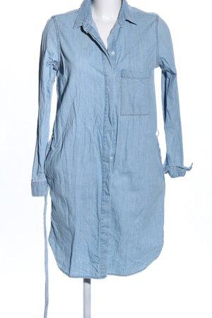 Closed Vestido vaquero azul moteado look casual