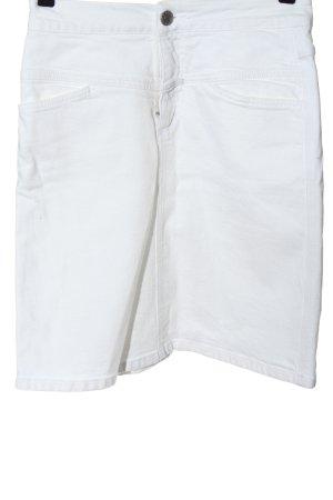 Closed Jeansowa spódnica biały W stylu casual