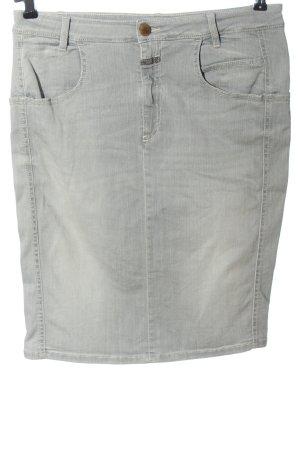 Closed Gonna di jeans grigio chiaro stile casual