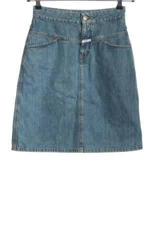 Closed Jeansowa spódnica niebieski W stylu casual
