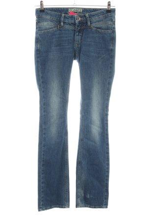 Closed Jeansschlaghose blau Casual-Look