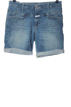 Closed Short en jean bleu style décontracté