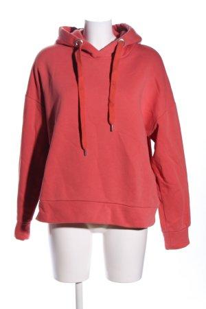 Closed Kapuzensweatshirt rot Schriftzug gedruckt Casual-Look