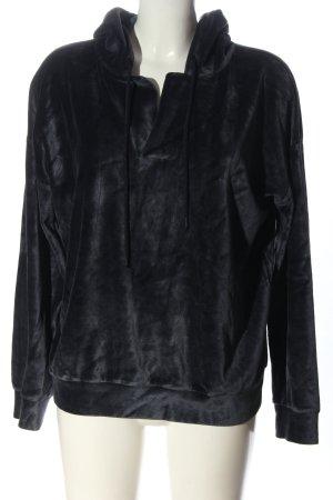 Closed Kapuzensweatshirt schwarz Casual-Look