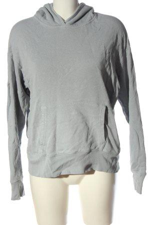 Closed Bluza z kapturem jasnoszary Melanżowy W stylu casual