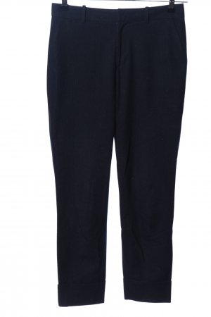 Closed Peg Top Trousers blue striped pattern casual look