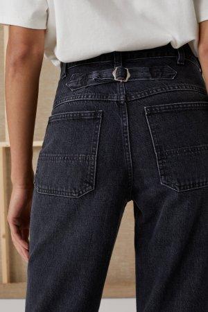 Closed Jeans a vita alta grigio scuro