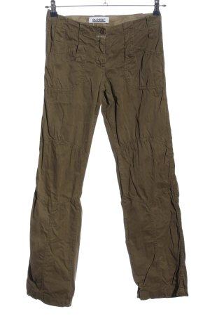 Closed Spodnie khaki khaki W stylu casual