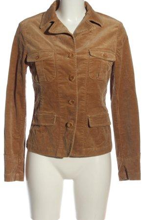 Closed Korte blazer bruin casual uitstraling