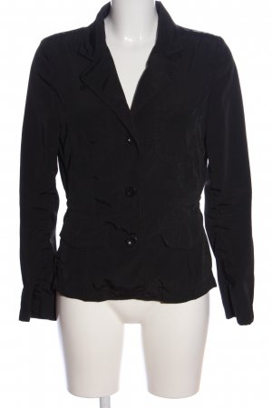 Closed Korte blazer zwart casual uitstraling