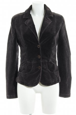Closed Kurz-Blazer brombeerrot-taupe Casual-Look