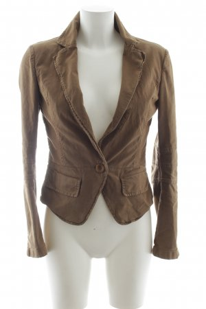 Closed Kurz-Blazer camel Casual-Look