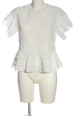 Closed Blusa de manga corta blanco look casual