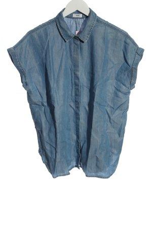 Closed Chemise à manches courtes bleu style décontracté