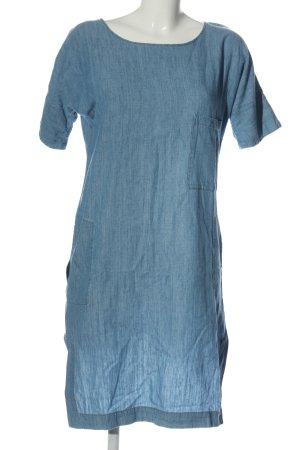 Closed Kurzarmkleid blau Casual-Look