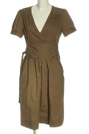 Closed Sukienka z krótkim rękawem brązowy W stylu casual